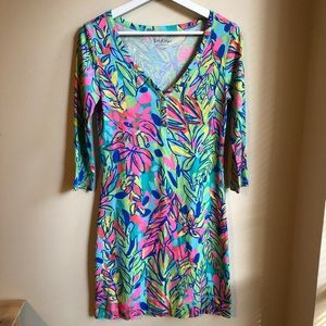 NWOT Lilly Pulitzer Palmetto T-Shirt Dress in XS